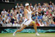 WIMBLEDON - Wimbledon'da Maria Sharapova yarı finalde