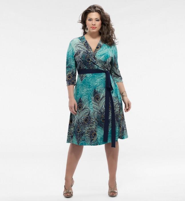 Особенность моделей платьев этого лета для девушек и дам с фигурой силуэта летние платья для полных девушек с поясом