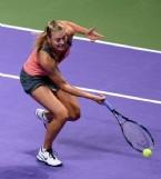 Maria Sharapova, Agnieszka Radwanskayı Mağlup Etti