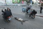 İsrail ajanlarını Öldürüp Sokakta Böyle Sürüklediler