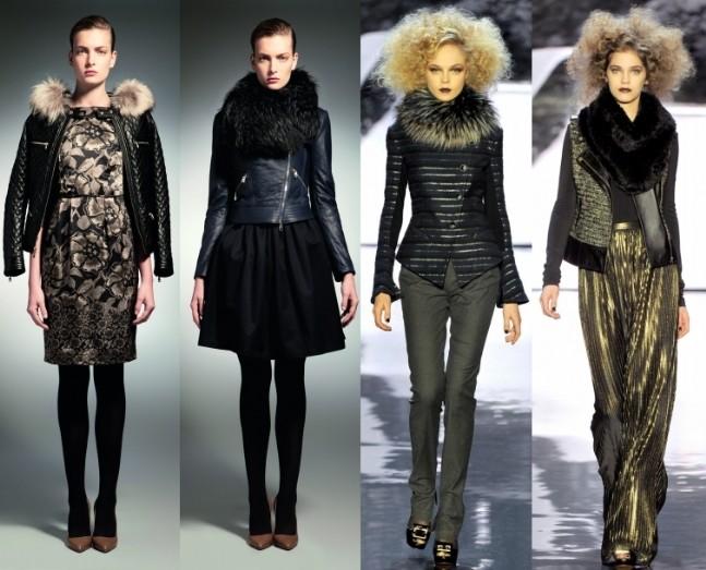 Модная Кожаная Женская Одежда
