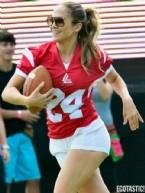 JENNİFER LOPEZ - Jennifer Lopez futbolcu oldu