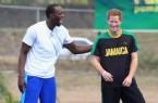 PRENS HARRY - Usain Bolt Prens Harry'e Kıyak Çekti