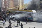 KAZLıÇEŞME - Polis göstericilere müdahale etti