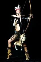 KıZıLDERILI - Merve İldeniz Kızılderili Oldu