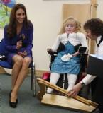 CAMBRIDGE - Çocukların Prensesi Kate Middleton Hastaneye Neşe Ve Kahkaha Getirdi