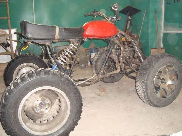 Как сделать квадроцикл своими руками мотоцикла урал