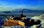 İSHAK PAŞA SARAYı - Ağrı'da Kış Güzelliği