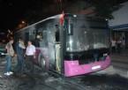 İETT Otobüsüne Molotoflu Saldırı