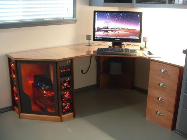 Компьютеры столы своими руками 93