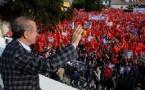 Başbakan Erdoğan'a Ankara'da Coşkulu Karşılama