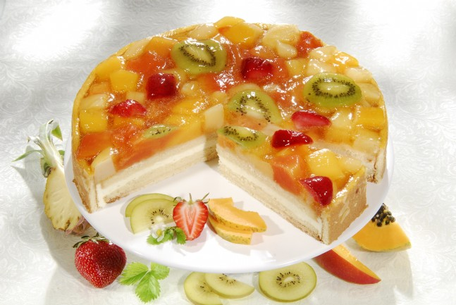 Сушка для овощей и фруктов киев купить. Фруктовое желе в виде торта и в ст