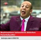 Beşiktaş - Fenerbahçe Maçı Caps'leri