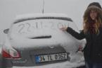 Kar Türkiye' ye Giriş Yaptı