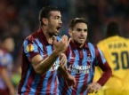 Trabzonspor - Metalist Kharkiv Maçından En Güzel Fotoğraflar...