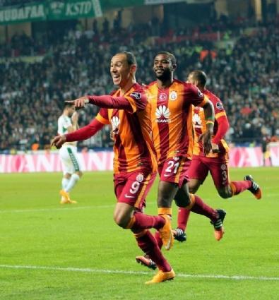 Torku Konyaspor - Galatasaray Maçından En Güzel Kareler...