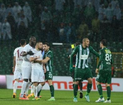Bursaspor - Trabzonspor Maçından En Güzel Kareler...