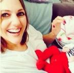 MERYEM UZERLİ - Meryem Uzerli'nin Kızı Lara Bebek'ten Yeni Fotoğraflar