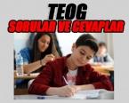 MILLI EĞITIM BAKANLıĞı - TEOG 8. Sınıf Liseye Geçiş Sınavı Soruları ve Cevaplar