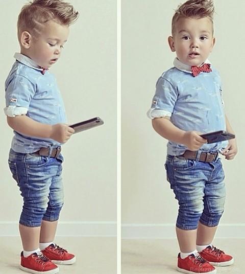 Стильный мальчик 1 год