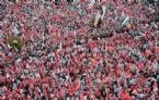 Başbakan Erdoğan Ankarada Mahşeri Kalabalığa Hitap Etti