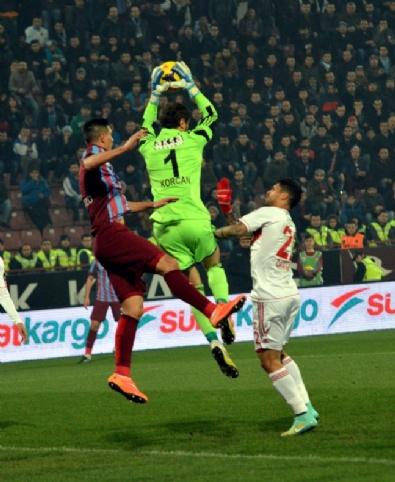 Trabzonspor - Sivasspor Maçından Kareler