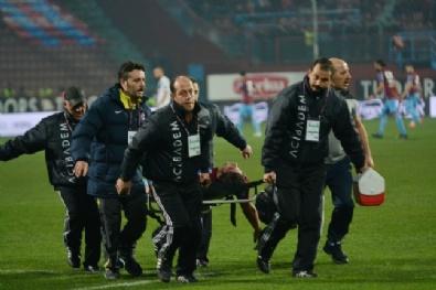 Trabzonspor - Kayseri Erciyesspor Maçından Kareler