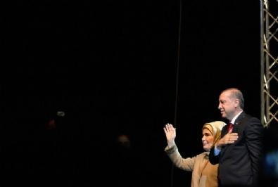 EMINE ERDOĞAN - Cumhurbaşkanı Erdoğan Strasbourg'da