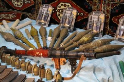 Vatandaşın İhbarıyla PKK Cephaneliği Bulundu