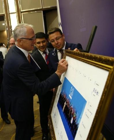 G-20 TOPLANTISI - G20 Liderler Zirvesinde Liderler Aile Fotoğrafını İmzaladı