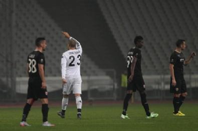 Beşiktaş - Skenderbeu Maçından Fotoğraflar...