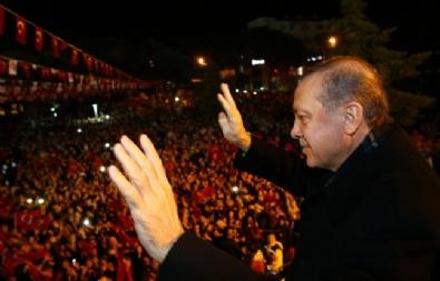 Cumhurbaşkanı Erdoğan Buraniye'de