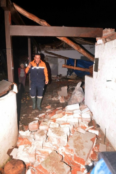 HORTUM FELAKETİ - Muğlayı Hortum Vurdu