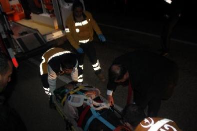 BELEDİYE BAŞKAN YARDIMCISI - Belediye Başkan Yardımcısı Trafik Kazasında Yaralandı