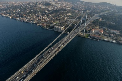 İSTANBUL BOĞAZI - İstanbul'un Havadan Görüntüsü