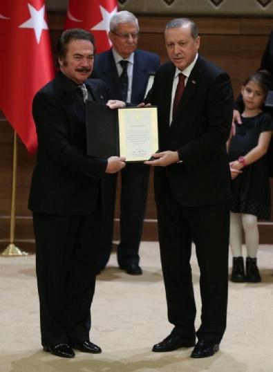 KÜLTÜR SANAT - Cumhurbaşkanlığı Kültür Ve Sanat Büyük Ödülleri Töreni