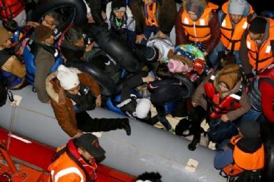 SAHİL GÜVENLİK - Ege Denizinde Yasa Dışı Geçişler