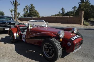 Fas'ta Klasik Arabalar Fuarı