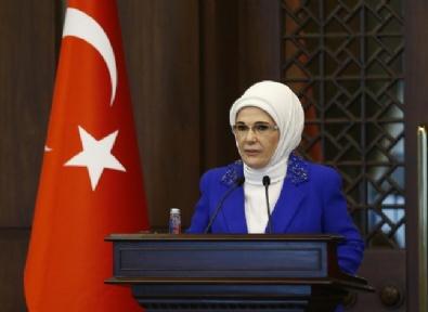 EMINE ERDOĞAN - Emine Erdoğan, Büyükelçi Eşlerine Yemek Verdi