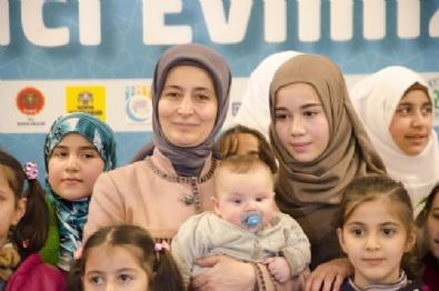 Sare Davutoğlu, Suriyeli Yetimlerle Buluştu