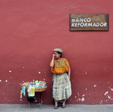 Küllerinden Doğan Şehir Antigua Guatemala