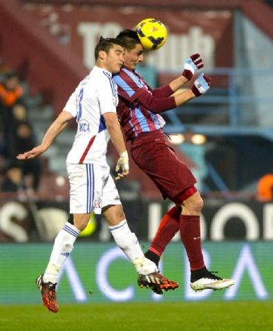 Trabzonspor - Kardemir Karabükspor Maçından Kareler