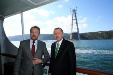 Erdoğan İlk Kez Bir Konuğunu Savarona Yatı'nda Ağırladı