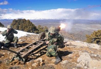 Mızrak-2 Arazi Tatbikatı gerçeğini aratmadı