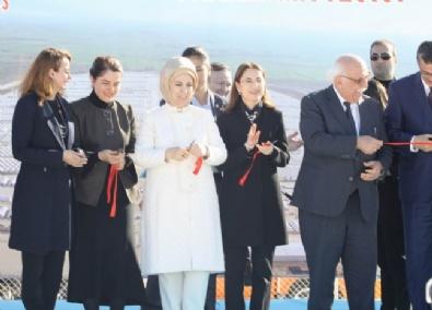 Emine Erdoğan; Türkiye'nin En Büyük Çadır Kentinin Açılışını Yaptı