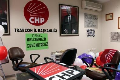 CHP Trabzon İl Başkanlığındaki İşgal Eylemi Sona Erdi