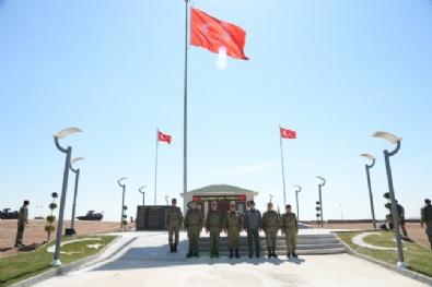 Genelkurmay Başkanı Özel Ve Komutanlar Süleyman Şah Saygı Karakolunu Ziyaret Etti