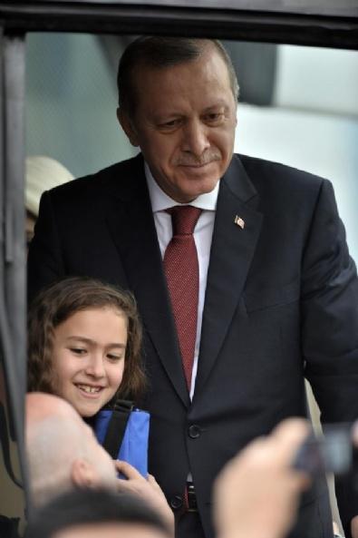 Cumhurbaşkanı Erdoğan Karabük'te 9 Yaşındaki Kız
