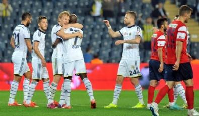 Fenerbahçe - Mersin İdmanyurdu Maçından Kareler