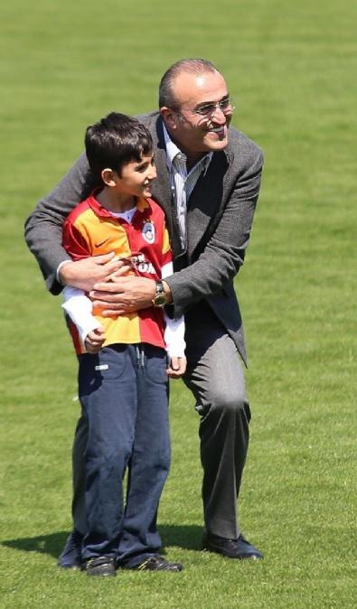 Şehit Savcı Mehmet Kiraz'ın Oğlu Galatasaray İdmanında